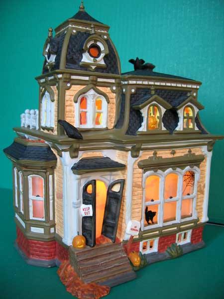 Dept 56 Black Roof Haunted Mansion Department 56